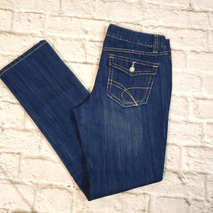 INC Denim Straight Leg Regular Fit Jeans size 8